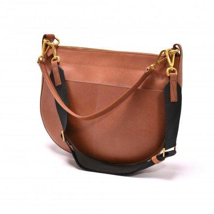 Gaby sac cuir cognac Avril Gau