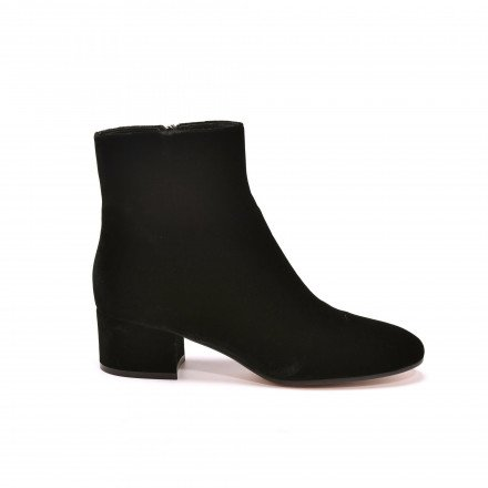 Rolling Boots Velours noir Gianvito Rossi