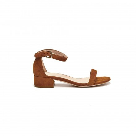 Nudist June Amaretto Stuart Weitzman