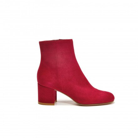 GIANVITO ROSSI MARGAUX BOOTS ROUGE