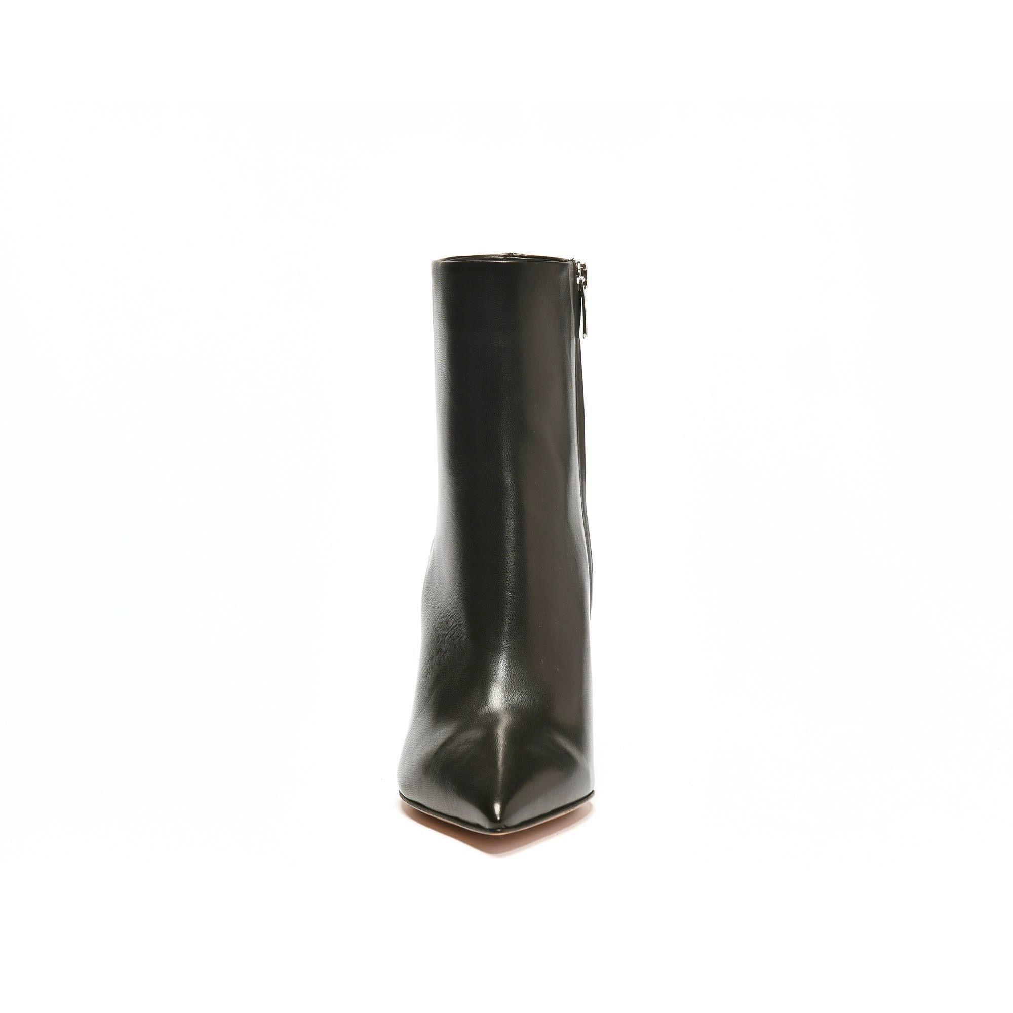 Piper Boots suède veau velour noir talon Gianvito Rossi