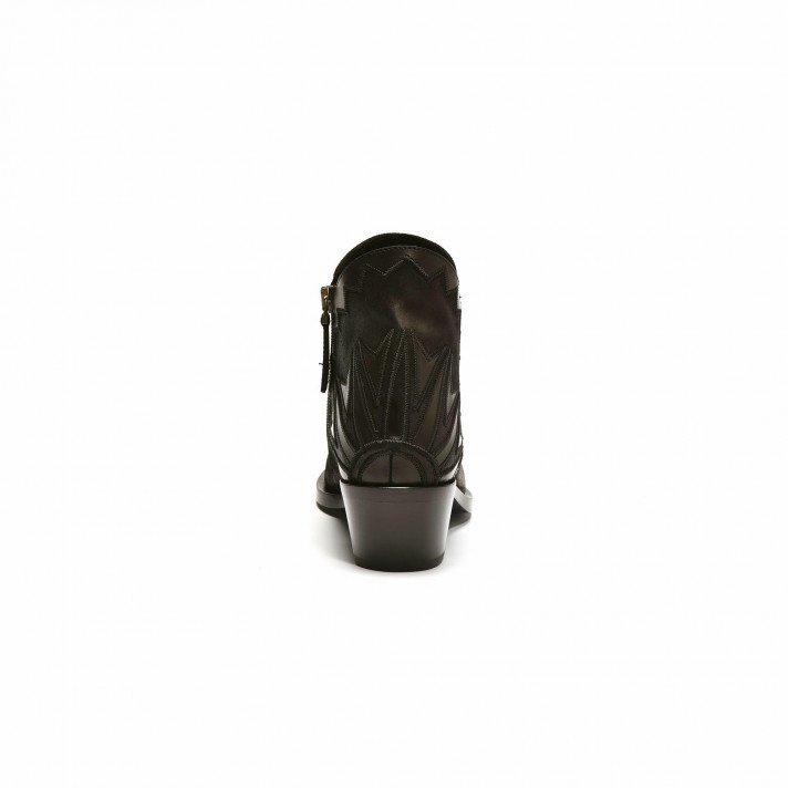 3420 boots noir Graphisme Sartore