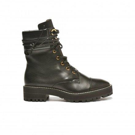 Lexy Boots Lacets Noir Stuart Weitzman