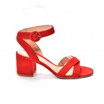 Frida rouge Gianvito Rossi