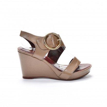Larond sandales canelle Avril Gau