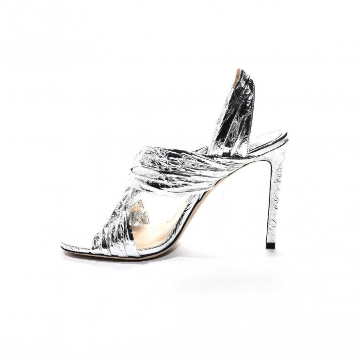 Lalia sandales argent Jimmy Choo