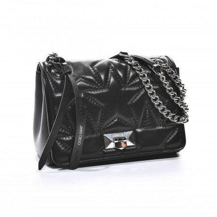 Helia Shoulder Noir Jimmy Choo