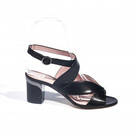 Brume sandale noire Violet Tomas