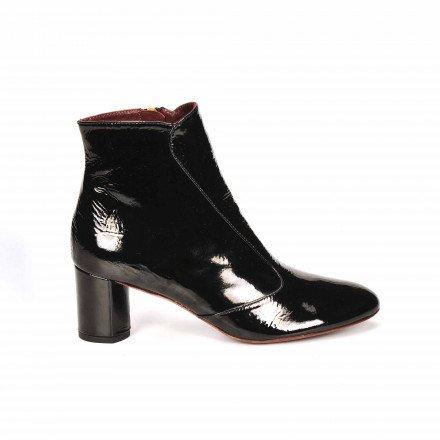 SOSIE Boots Vernis noir Avril GAU