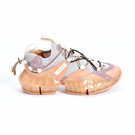 Diamond Baskets Pink Jimmy Choo