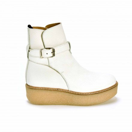 PATSY BOOTS BLANCHES FLAMINGOS