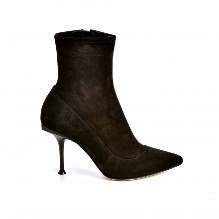 A85191 BOOTS SUEDE ET STRETCH SERGIO ROSSI