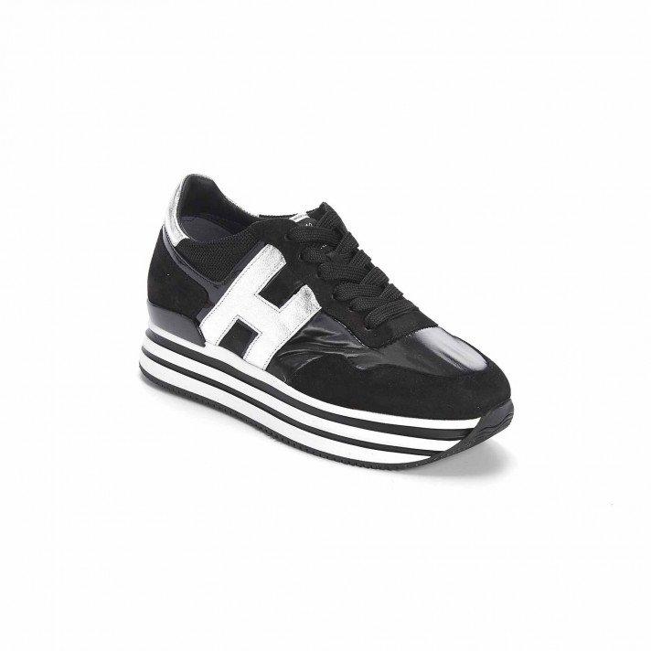 HXW 4830 Basket Noire et Argent