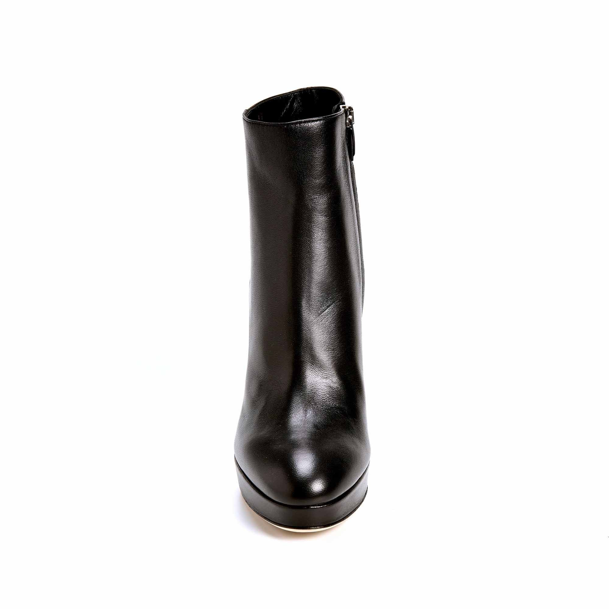 A 85450 BOOTS NOIRES SERGIO ROSSI
