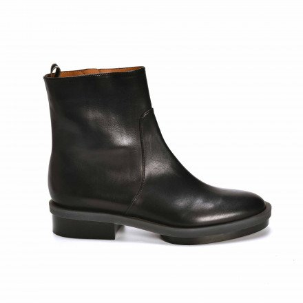 ROLL BOTTINES NOIRES CLERGERIE