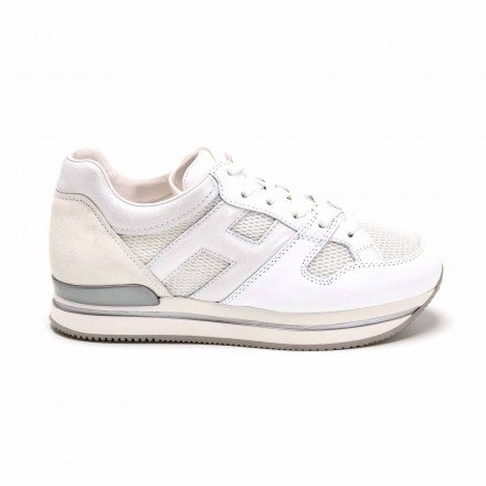 HXW2220 BASKETS BLANCHES HOGAN