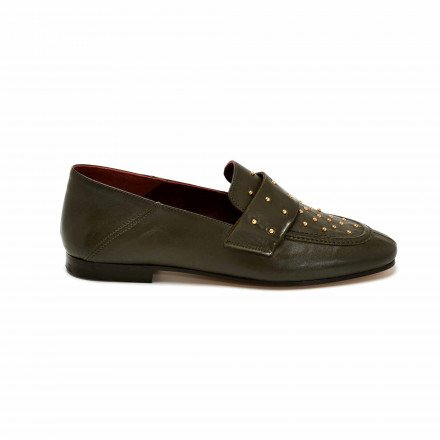 DECLOU MOCASSINS OLIVE CLOUS AVRIL GAU