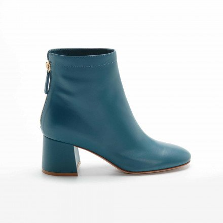 G73526  HYDER BOOTS BLEU CANARD GIANVITO ROSSI