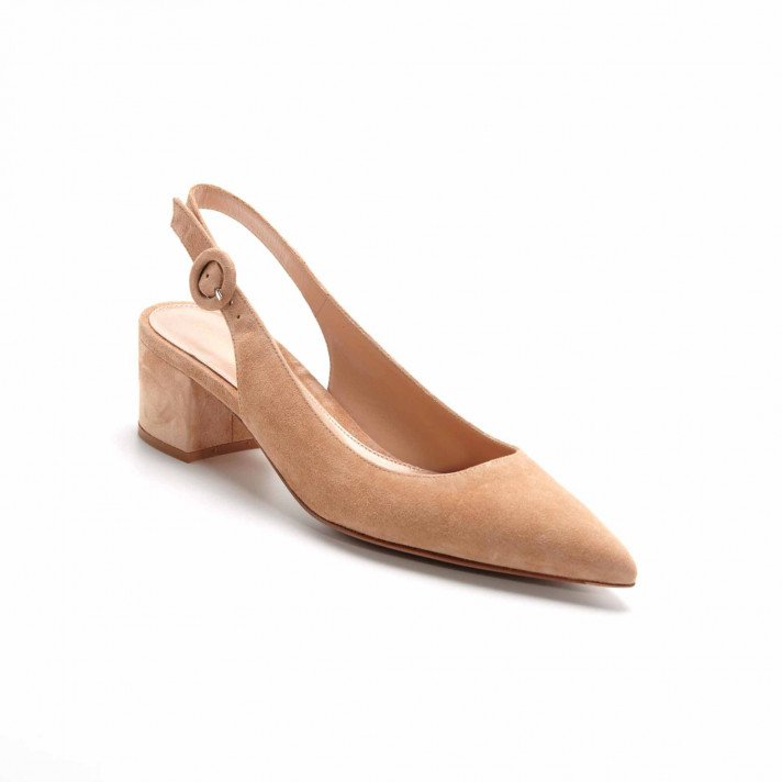 AMEE SANDALES CAMEL GIANVITO ROSSI
