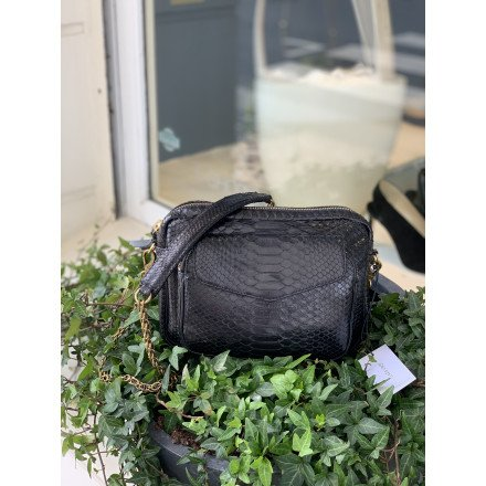 SAC PYTHON BIG CHARLY NOIR OR Claris virot