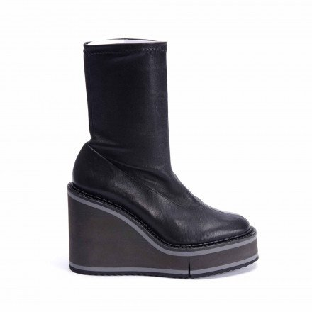 BLISS 4 BOOTS COMPENSEES STRETCH CLERGERIE
