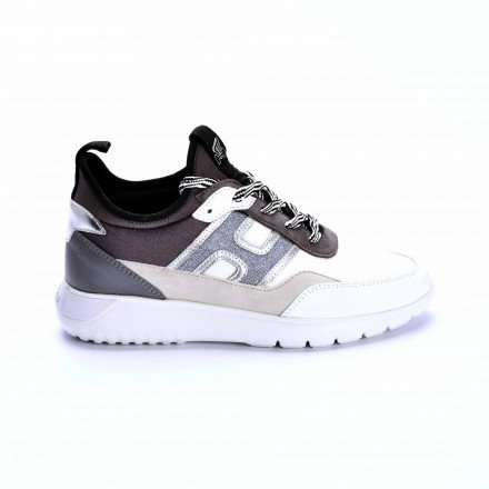 HXW3710 BASKETS GRIS /BLANC HOGAN