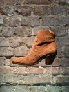 JANE7 WEST ZIP¨BOOT TABAC
