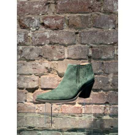 JANE 7 LOW CHEL BOOT FOREST FREELANCE