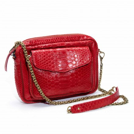SAC BIG CHARLY ROUGE CLARIS VIROT