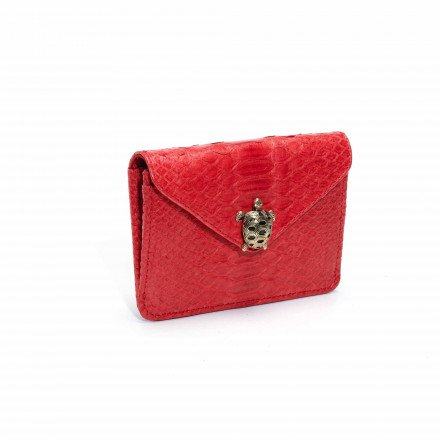 PORTE CARTE ALEX ROUGE TORTUE CLARIS VIROT