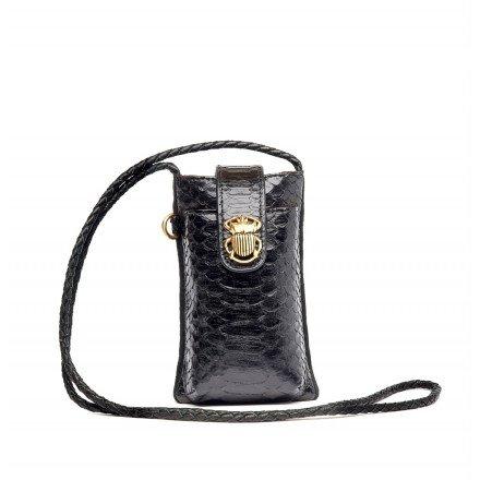 ETUI TELEPHONE DOUBLE MARCUS NOIR CLARIS VIROT
